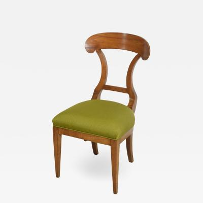 Biedermeier Fruitwood Side Chair