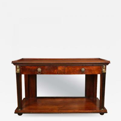 French Neoclassical Console Table