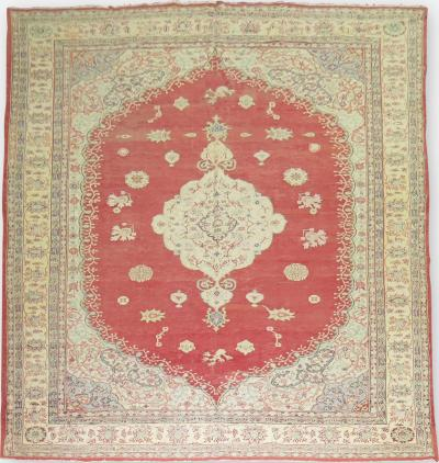 Antique Oushak Rug rug no 27681