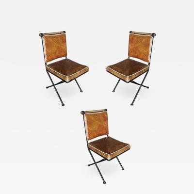 Cleo Baldon Set of Four Midcentury Directors Chair Dining Chairs by Cleo Baldon