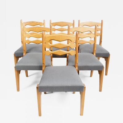 Guillerme et Chambron Guillerme et Chambron Dining Chair Set