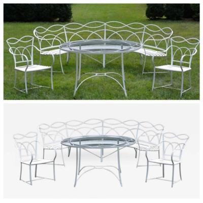 Wrought Iron Furniture Suite