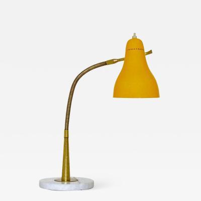 Oluce 1960s Giuseppe Ostuni Table Lamp for O Luce