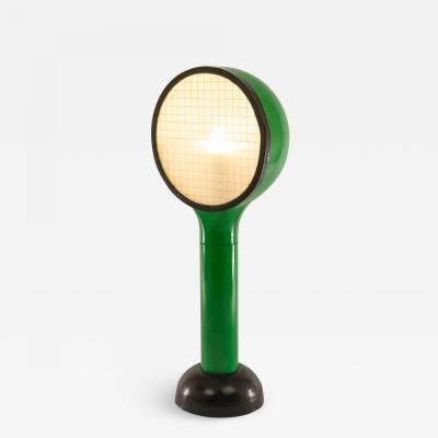 Adalberto Dal Lago Green table lamp Drive by Adalberto Dal Lago for Francesconi 1960s