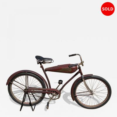 Rare 1937 Indian Motocycle Co Bicycle