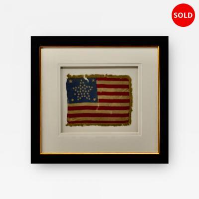 Antique 38 Star American Flag