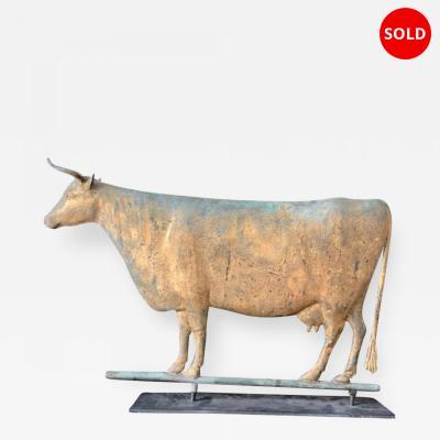 Harris Co 19th Century Cow Weathervane