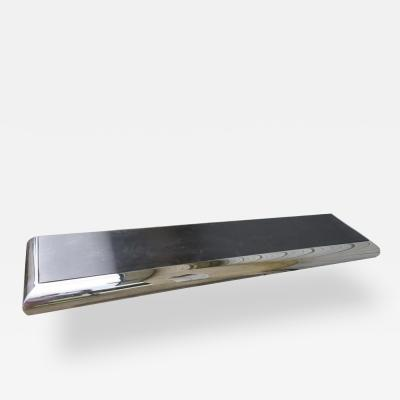 Pace Collection Wonderful Pace Collection Style Chrome Wall Shelf Console Table Mid Century Mode