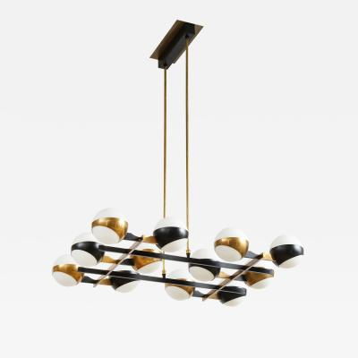 Stilnovo Rectangular chandelier by Stilnovo