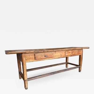 Larch wood Farm Table Circa 1780