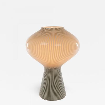 Venini Striped Fungo table lamp by Massimo Vignelli for Venini 1950s