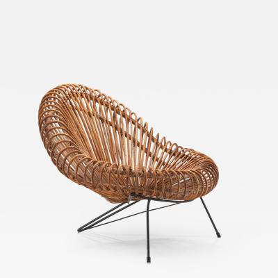 Janine Abraham Dirk Jan Rol Lounge Chair by Janine Abraham Dirk Jan Rol for Rougier France 1950s