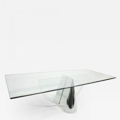 J Wade Beam Brueton Pinnacle Table Designed by Jay Wade Beam Mid Century Modern