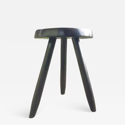 Charlotte Perriand charlotte Perriand rarest black tripod high stool