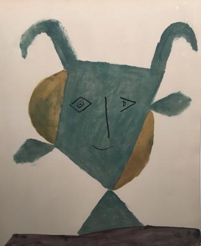 Pablo Picasso Faunes et Flores dAntibes