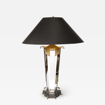 Lorin Marsh Pair of Art Deco Revival Athena Table Lamps Documented by Lorin Marsh