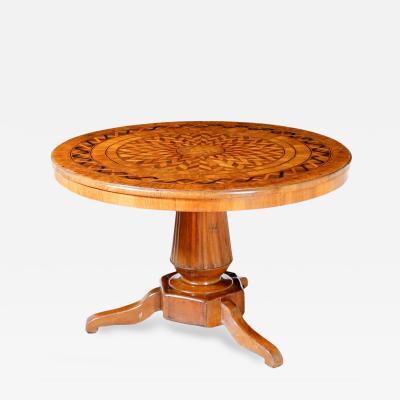 Italian Marquetry Center table Circa 1820
