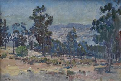Charles Arthur Fries A Hazy Day by Charles Fries