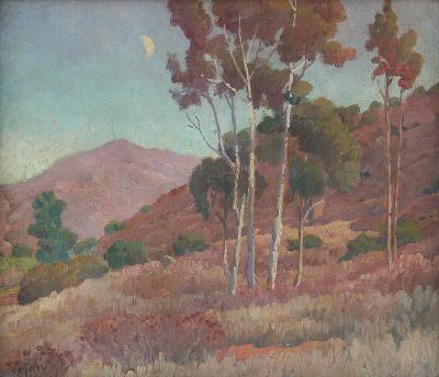 Charles Arthur Fries On the Hillside