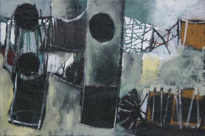 John Philip Hultberg Untitled Abstract 1949