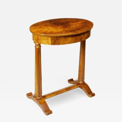 167 Small oval table
