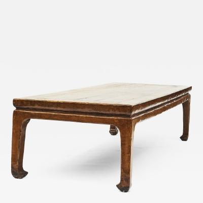 17 18TH CENTURY CHINESE DINING TABLE OR CALLIGRAPHY WORK TABLE