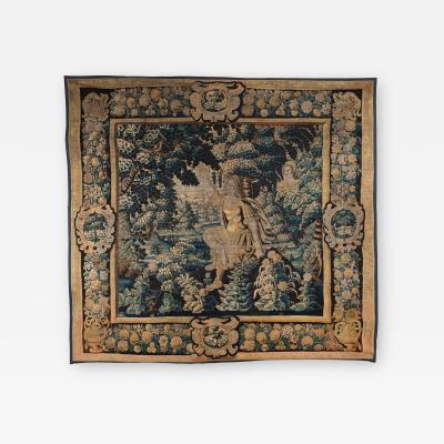 17TH CENTURY FLEMISH MYTHOLOGICAL TAPESTRY CEPHALUS AND PROCRIS