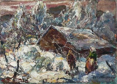 John Edward Costigan Early Snow