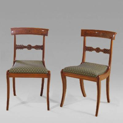 Set of Twelve Neo Classical Dining Chairs about 1820