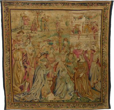 17th Century Antique Beauvais Empire Tapestry