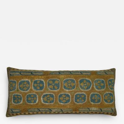 17th Century Antique Brussels Tapestry Pillow 23 x 17