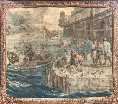 17th Century Brabant Belge Tapestry