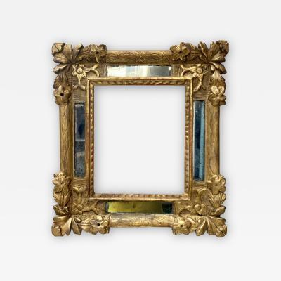 17th Century Golden Wood Frame