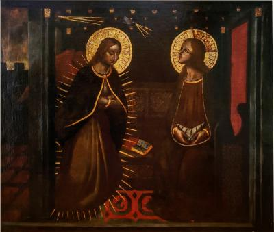 17th Century Painting of The Annunciation