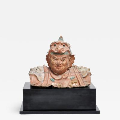 17th Century Terracotta Sculpture of a Ming Dynasty Warrior