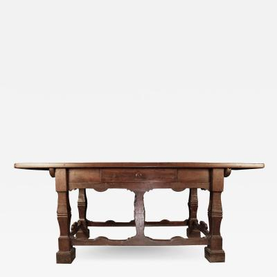 17th c Walnut Side Table