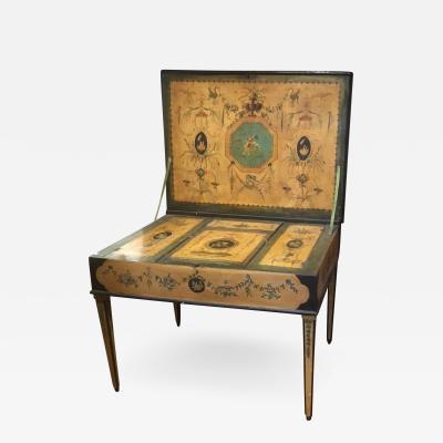 1810 Hand Painted Italian Vanity