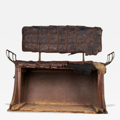 1850s 1870s Horse Carriage Bench