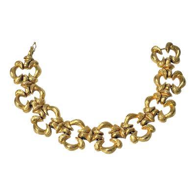 18K Yellow Gold Bracelet C 1950