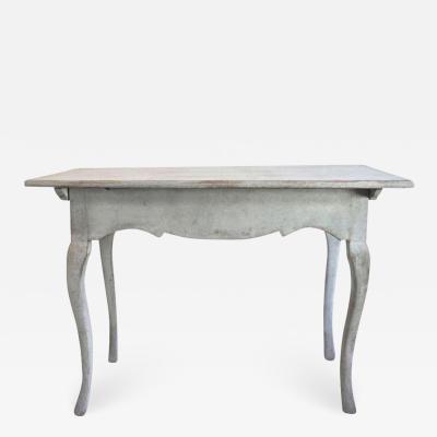 18TH C SWEDISH ROCOCO SIDE TABLE