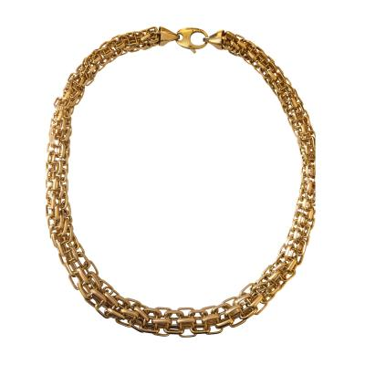 18k Gold Italian Necklace