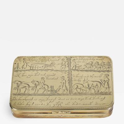 18th C Dutch Tobacco Box