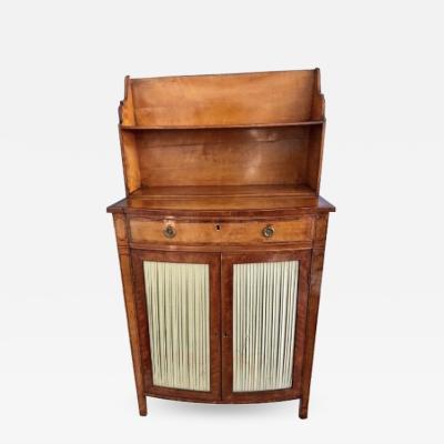 18th C English George III Satinwood Side Cabinet