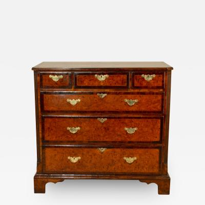 18th Century Burr Elm Chest of Drawers