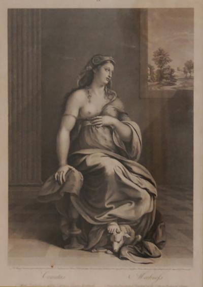 18th Century Classical Engraving Italian