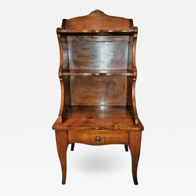 18th Century Country French Cherrywood Side Table or Open Case