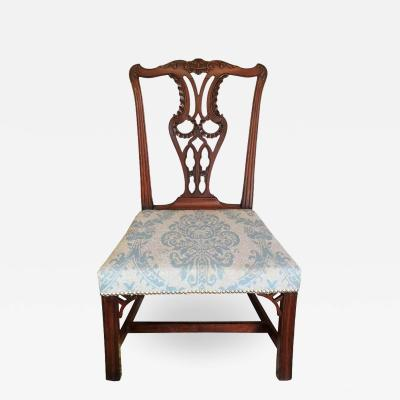 18th Century English Chippendale Mahogany Side Chair