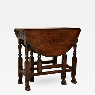 18th Century English Oak Gateleg Table