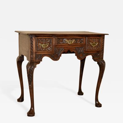18th Century English Oak Lowboy