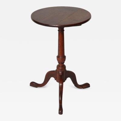 18th Century English Oak Wine Table